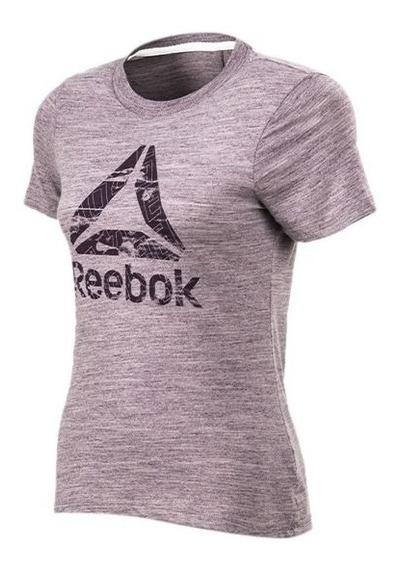 Reebok Remera Te Marble Logo W Depo9122