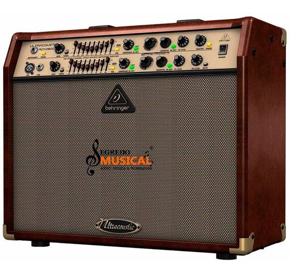 Amplificador P/violão Behringer Acx1800 180w C/ Efeito 220v