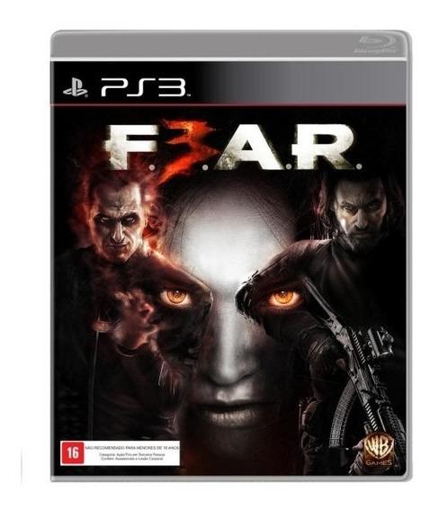 Jogo Fear 3 Playstation Ps3 Usado