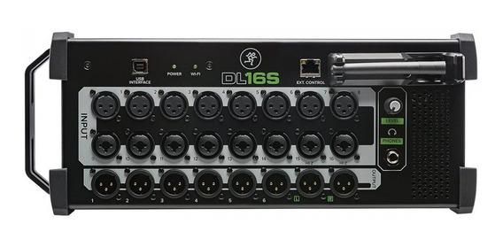Mackie Dl16s Mixer Digital Compacto Rackmount 16 Canais