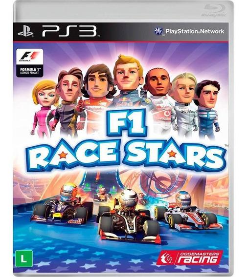F1 Race Stars Ps3 Midia Fisica Lacrado Novo Original