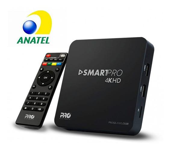 Conversor Smart Tv 2gb Ram 8gb Android Homologado Anatel