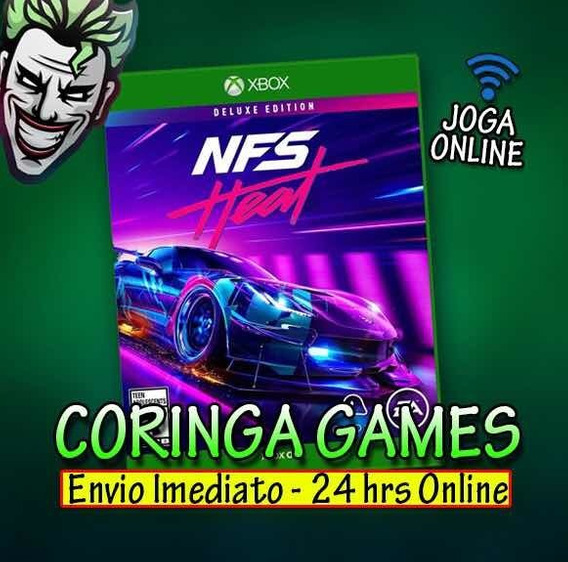 Need For Speed Heat Xbox One Midia Digital + 2 Brinde