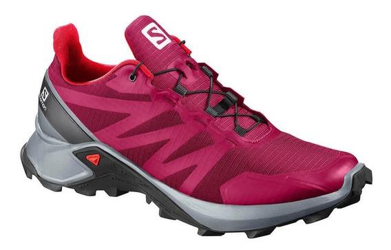 Tênis Salomon Supercross Pink/cinza Feminino