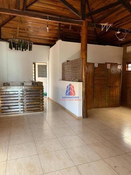 Casa Comercial Para Alugar, 125 M² Por R$ 2.800/mês - Chácara Machadinho I - Americana/sp - Ca1342