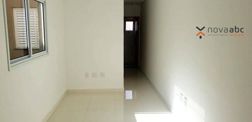 Imagem 1 de 10 de Apartamento À Venda, 49 M² Por R$ 260.000,00 - Vila Camilópolis - Santo André/sp - Ap2553