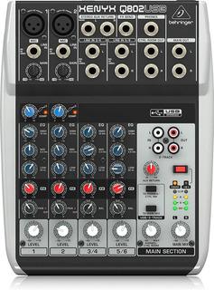 Consola Mezcladora Mixer Behringer Xenyx Q802usb