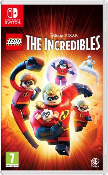 Lego The Incredibles Nintendo Switch - Os Incríveis