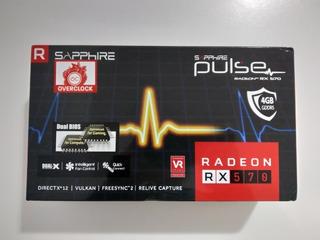 Rx 570 4gb Tarjeta De Video Sapphire Pulse Amd Radeon
