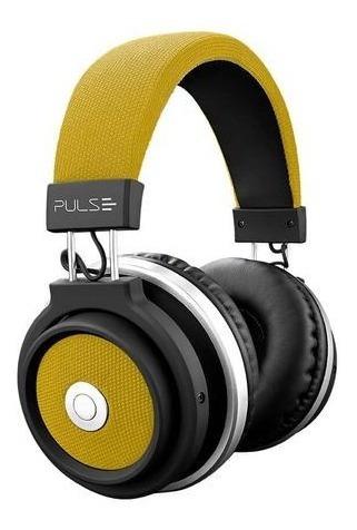 Headphone Pulse Ph233 Bluetooth Amarelo