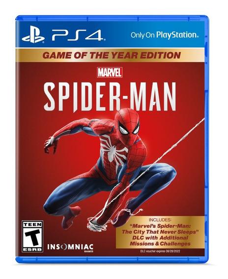 Spiderman Ps4 Juego Fisico Nuevo Sellado