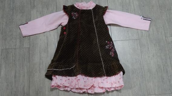 Vestido Petit Lem Talla 24m