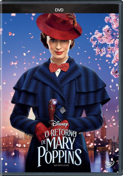 O Retorno De Mary Poppins - Dvd
