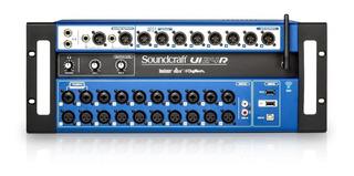 Mezcladora Rack Soundcraft Ui24r Promocion ¡envio Full