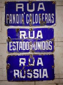 Placas Esmaltada Russia Antiga Àgata