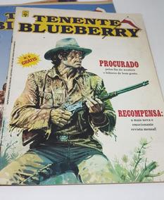 Hq Tenente Blueberry Números 0, 2 E 3