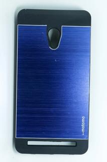 Capa Aluminio Metal Asus Zenfone 5 A500 501 + Pelicula Vidro