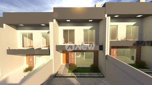 Imagem 1 de 14 de Casa Sobrado Com 3 Dormitórios À Venda, 151 M² Por R$ 480.000 - Santo André - São Leopoldo/rs - Ca3585