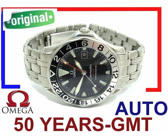 Omega Seamaster Gmt Chronometer Automatico Ed. Ltd 50 Anos