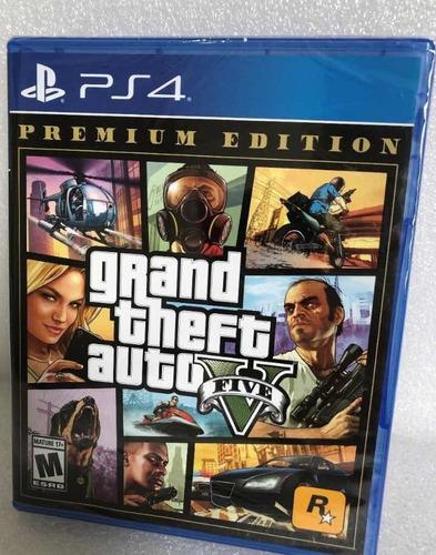 Jogo V Ps4 Grand Theft Auto Mídia Fisica Lacrado