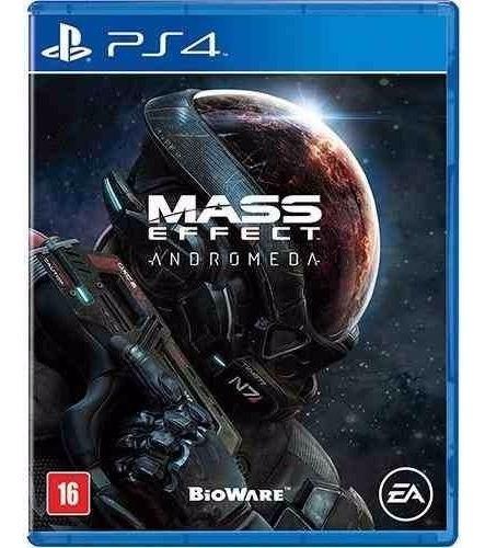Jogo Mídia Física Mass Effect Andromeda Pt Playstation Ps4