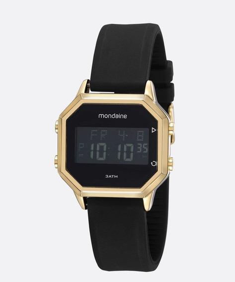 Relógio Masculino Digital Led Mondaine 53963gpmvdi1
