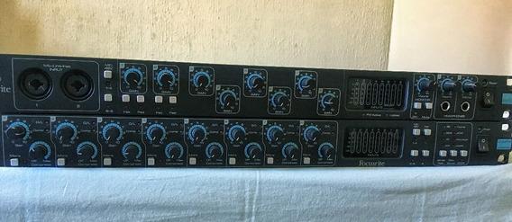 Interface De Áudio - Placa De Som - Pre - Amplificador