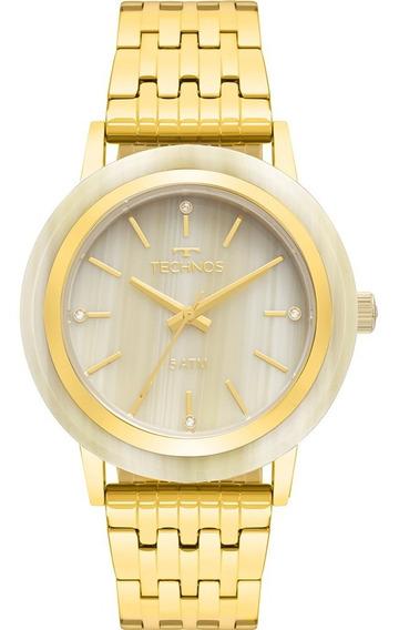 Relógio Feminino Technos Dourado Unique 203aac/4x
