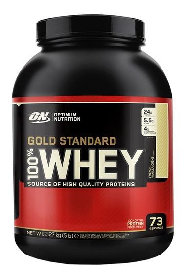 Proteina Whey Gold Standard X 5 Lb Optimum Nutrition