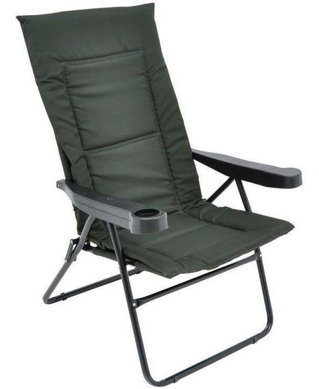 Cadeira Reclinável Mor Alfa, Aço, Preta - 002301