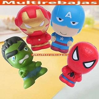 Divertido Squishy De Spiderman
