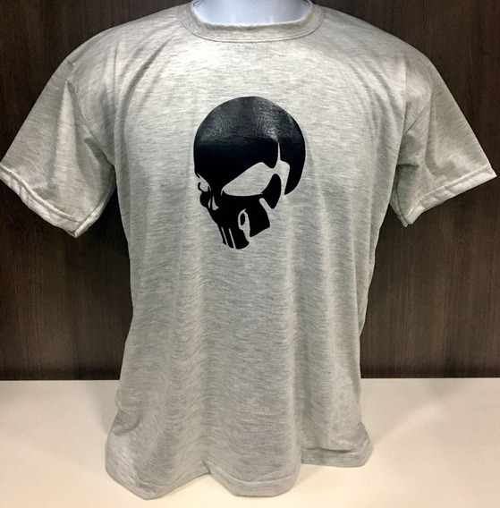 Camiseta Blusa Masculina Feminina Personalizada Caveira