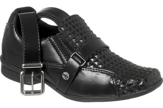 Sapato Social Com Cinto Infantil Menino Redmax A/b930-003
