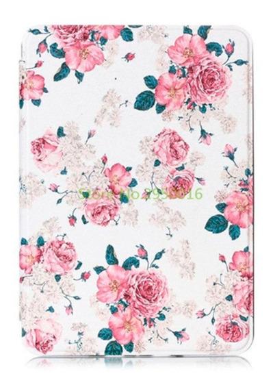 Capa Case Novo Kindle Paperwhite (10ªg) - Rosas