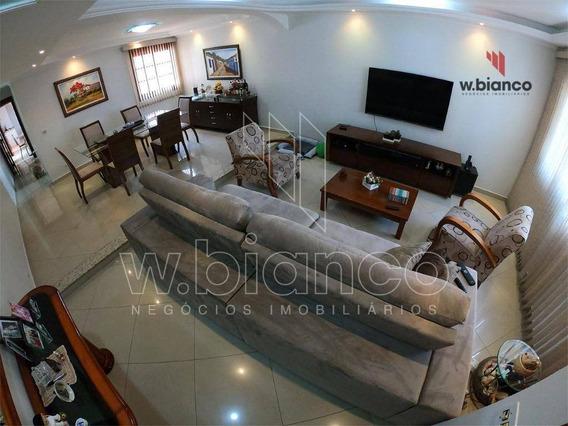 Sobrado Com 3 Dormitórios À Venda, 260 M² Por R$ 895.000 - Jardim Hollywood - São Bernardo Do Campo/sp - So0460