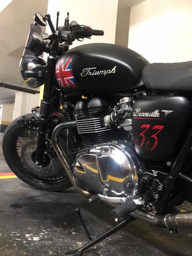 Imagem 1 de 8 de Triumph Bonneville T100 (custom Tarso Marques)