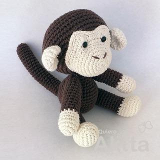 Johnny the Monkey amigurumi pattern by Pepika | Crochet monkey ... | 320x320