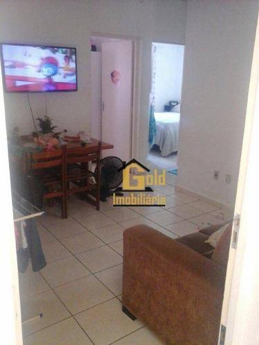 Apartamento Com 2 Dormitórios À Venda, 42 M² Por R$ 123.050 - Vila Virgínia - Ribeirão Preto/sp - Ap1604