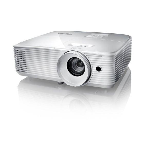 Projetor Optoma Hd27hdr 3d Full Hd 3400 Lumens 1080p Branco