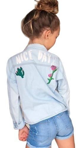 Camisa Jeans Infantil Mania Kids