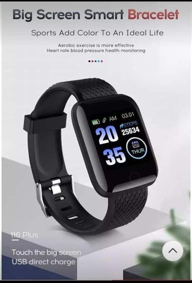 Smartwatch 116 Plus S-6 Black