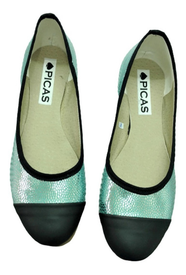 Outlet Zapatos Chatitas Tipo Balerinas Ultimos Colores