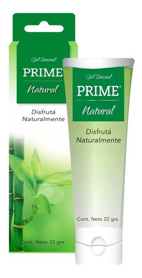 Gel Prime Natural Lubricante Femenino Sensual 22gr Aloe Vera