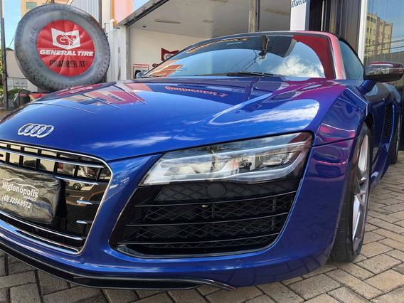 Audi R8 5.2 Fsi Quattro Spyder V10 40v Gasolina 2p S Tronic