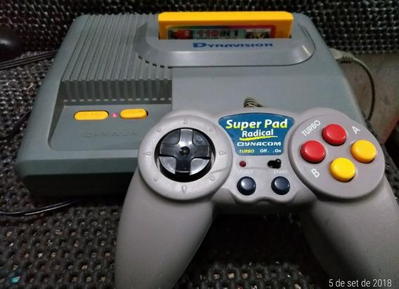 Video Game Dynavison Com Cartucho Super Mario+ Controle