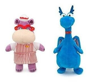 Disney Junior Jr Doc Mcstuffins 8 1/2 Stuffy Plush Dragon Y
