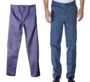 Pantalon De Trabajo Ombu C/cierre 100% Algodon
