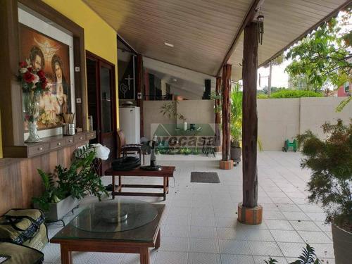 Imagem 1 de 12 de Belíssima Casa Com 4 Quartos, Em Condomínio Fechado, À Venda, 165 M² Por R$ 882.000 - Dom Pedro - Manaus/am - Ca4194