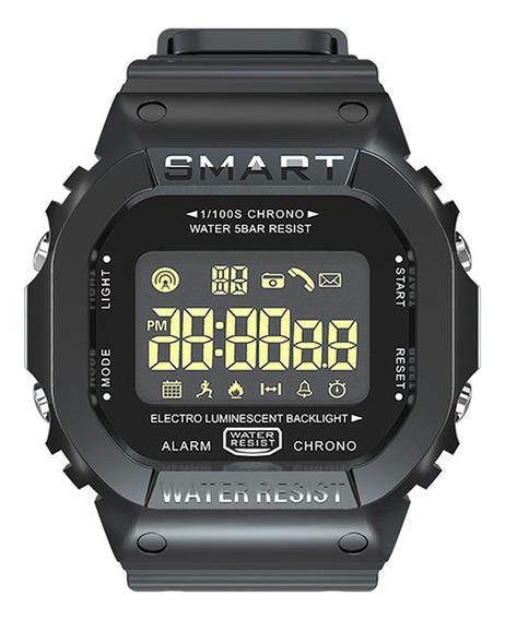Smart Men Reloj Bracelet Lokmat Bt Deportivo Fitness Multifu