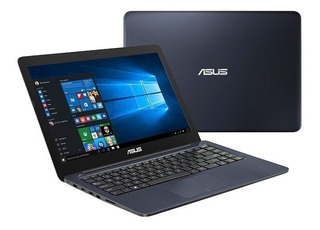 Notebook Asus Vivobook E402 Intel Dual Core N3350 Hdd 500gb 4gb 14 Win 10 Hdmi Grafico Intel 500 Usb Factura A Y B